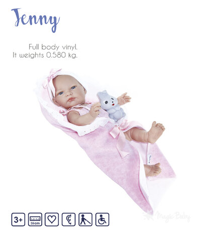"Кукла Magic baby ""Jenny new Born"""